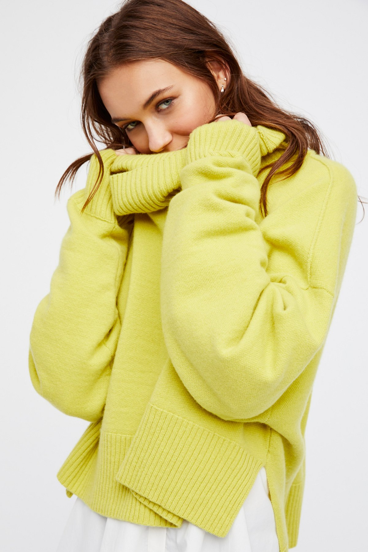 Look Both ways Cashmere Pullover