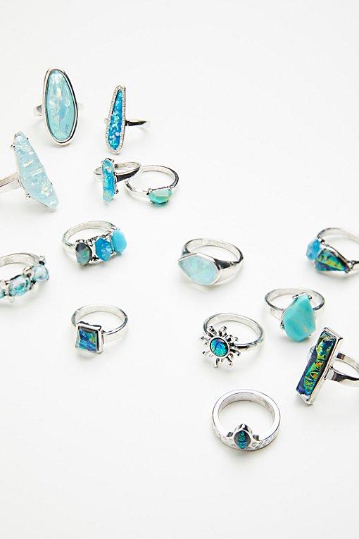 Product Image: Mega Watt Stone Ring Set