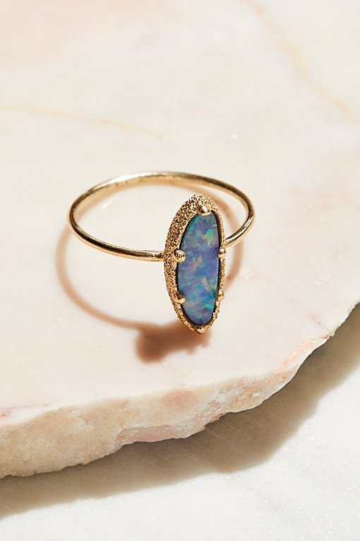 Product Image: 9k Blue Ocean Opal Ring