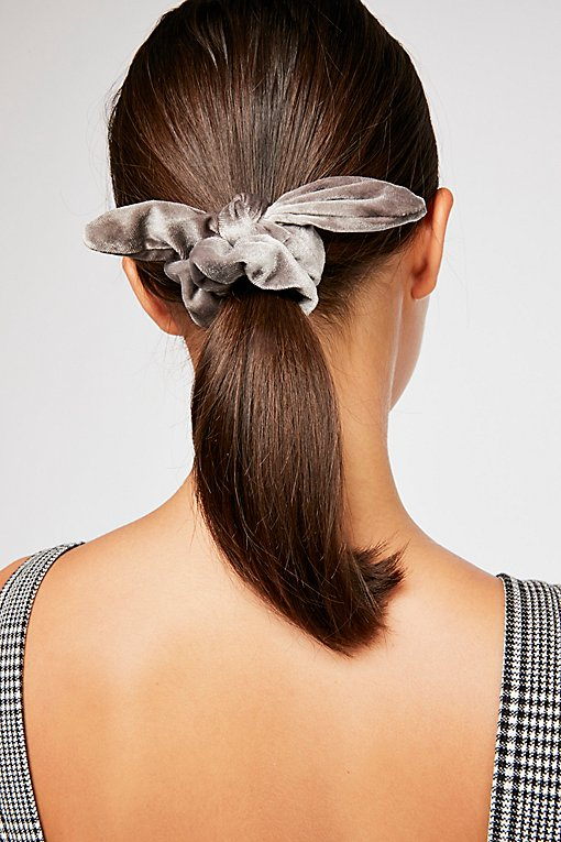 Product Image: Knotted Velvet Scrunchie