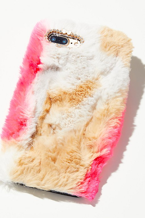 Product Image: Colorful Faux Fur iPhone Case