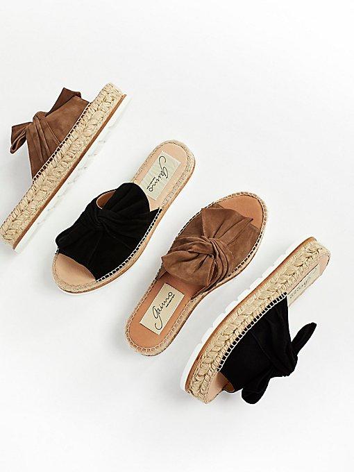 Product Image: Suede Samantha Flatform Sandal