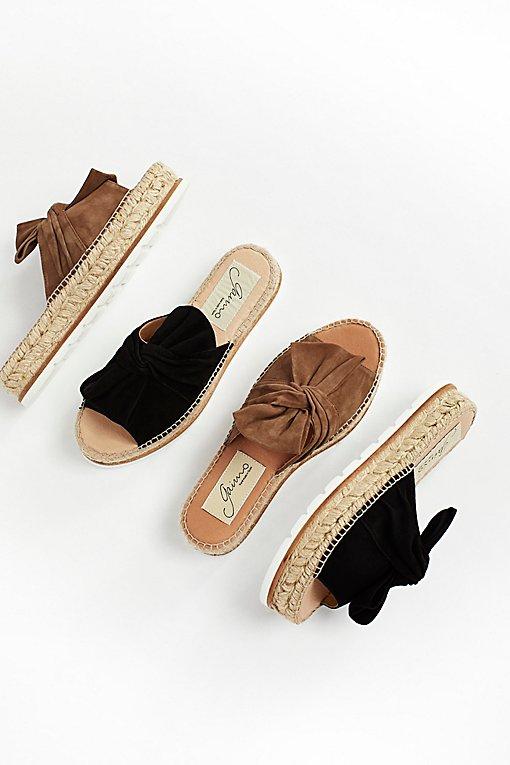 Product Image: Samantha绒面革松糕凉鞋