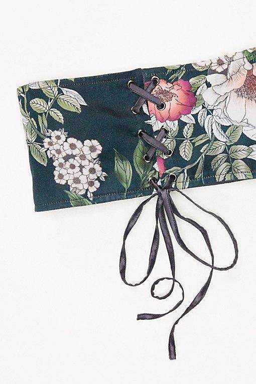 Product Image: Talula Floral Corset Belt