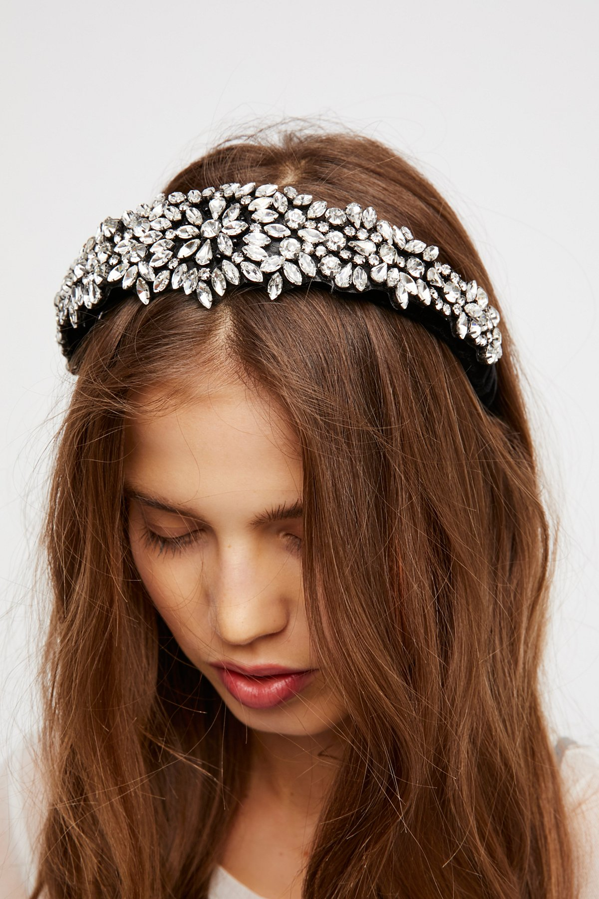 Encrusted Crystal Headband