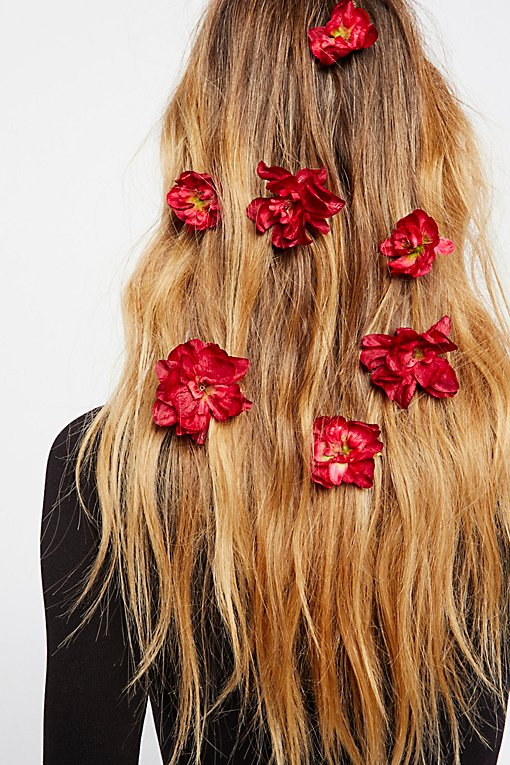 Product Image: Franny Flower Hair Pins