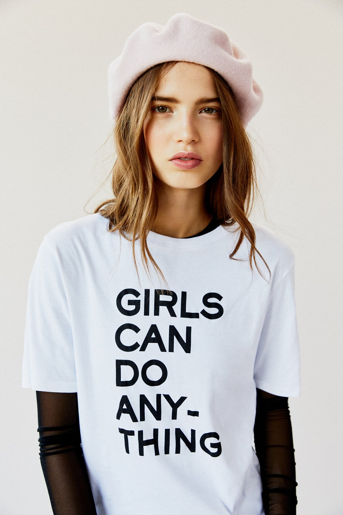 Girls Can Do Anything T恤