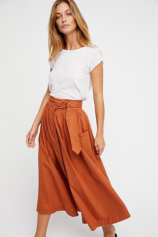 Shop the Dream of Me Midi Skirt