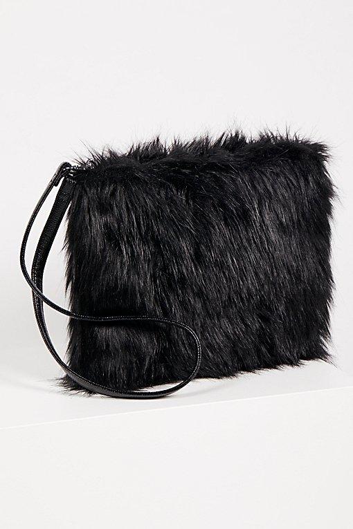 Product Image: Ziggy Faux Fur Clutch