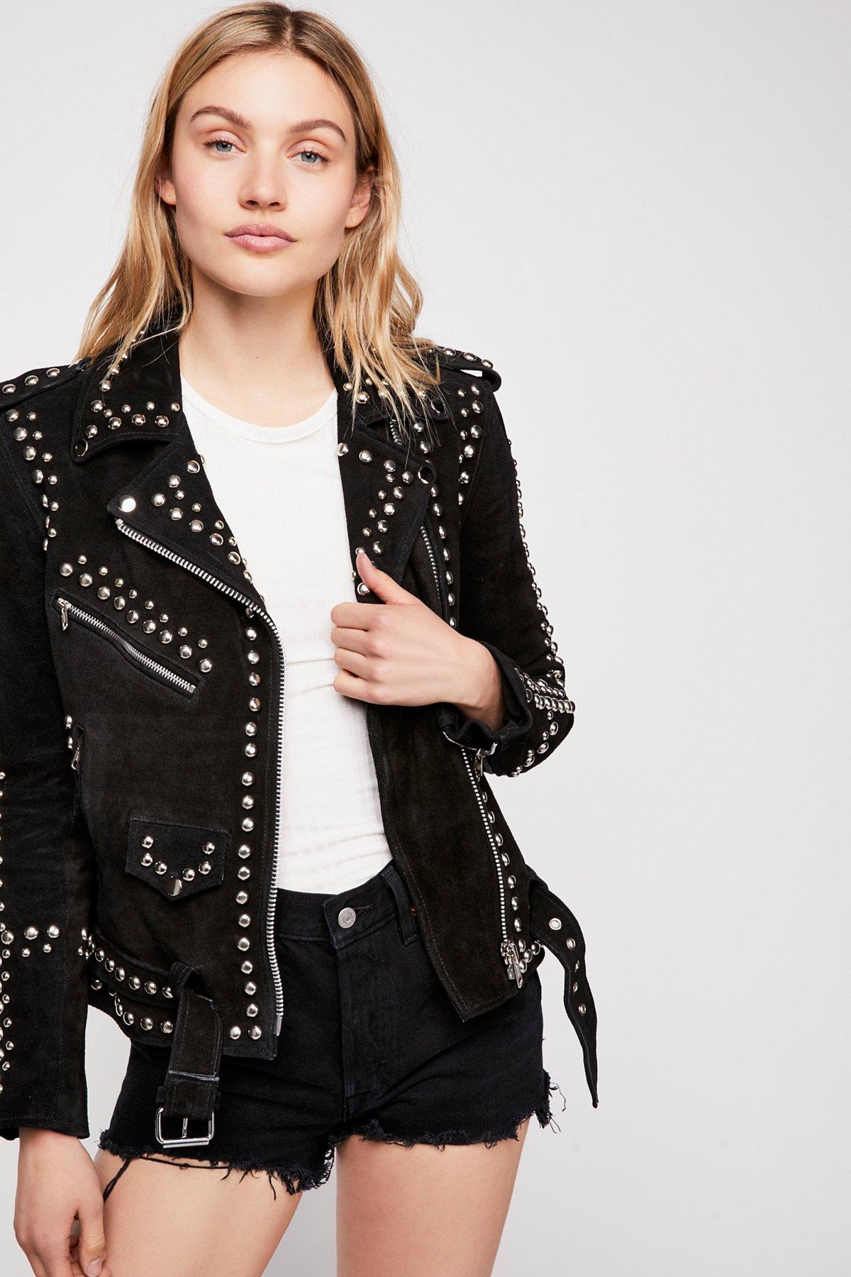 Studded Easy Rider Jacket
