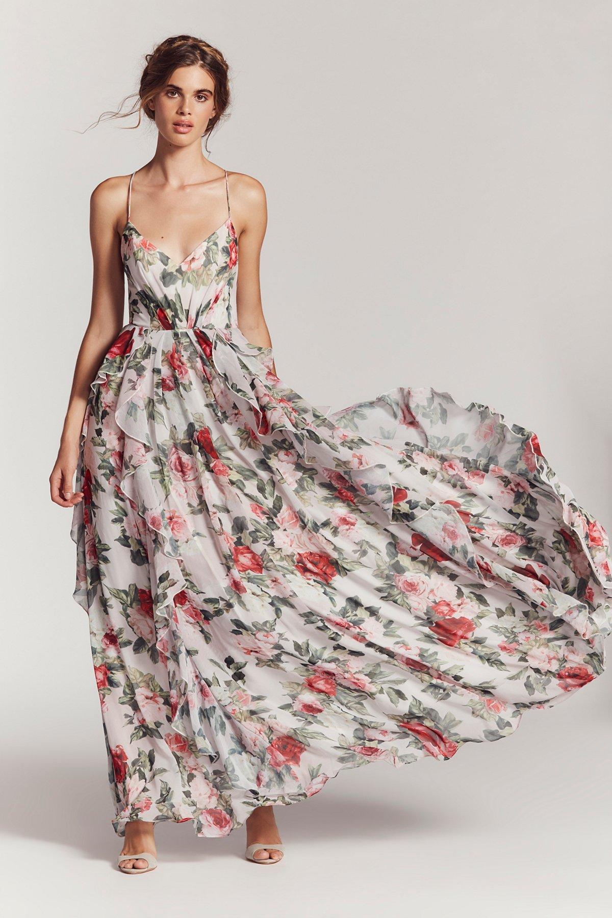 Queen Ann Maxi Dress