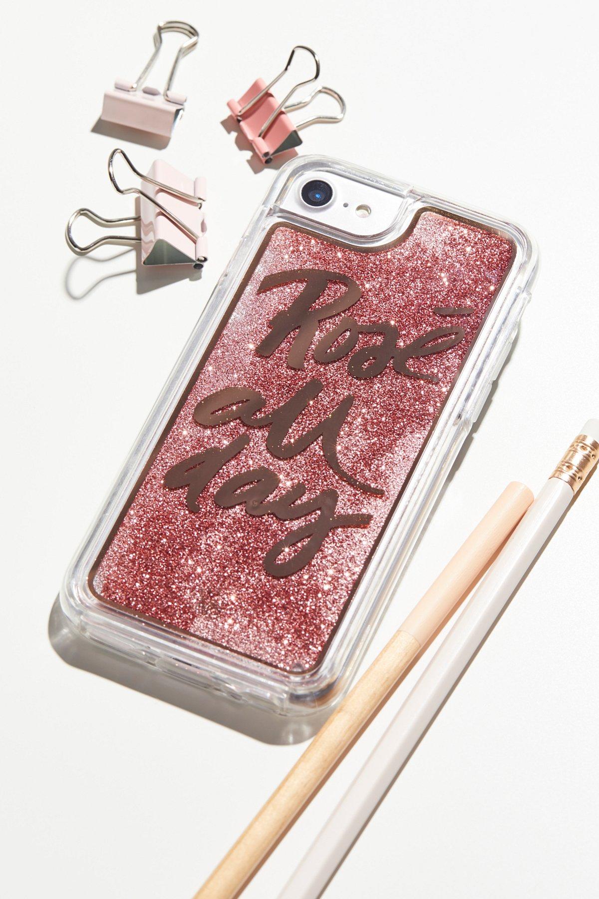 印花闪粉iPhone手机壳