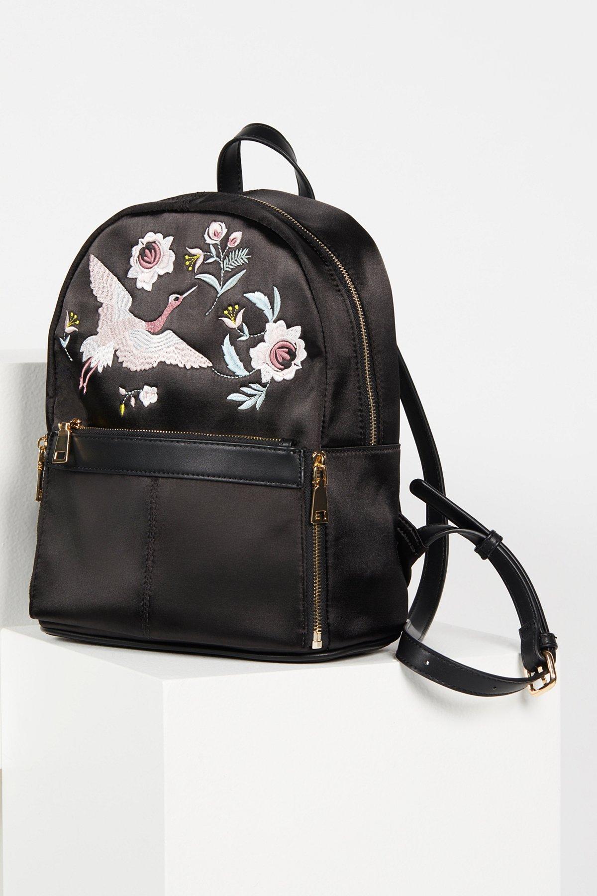 Magic Gardens Satin Backpack