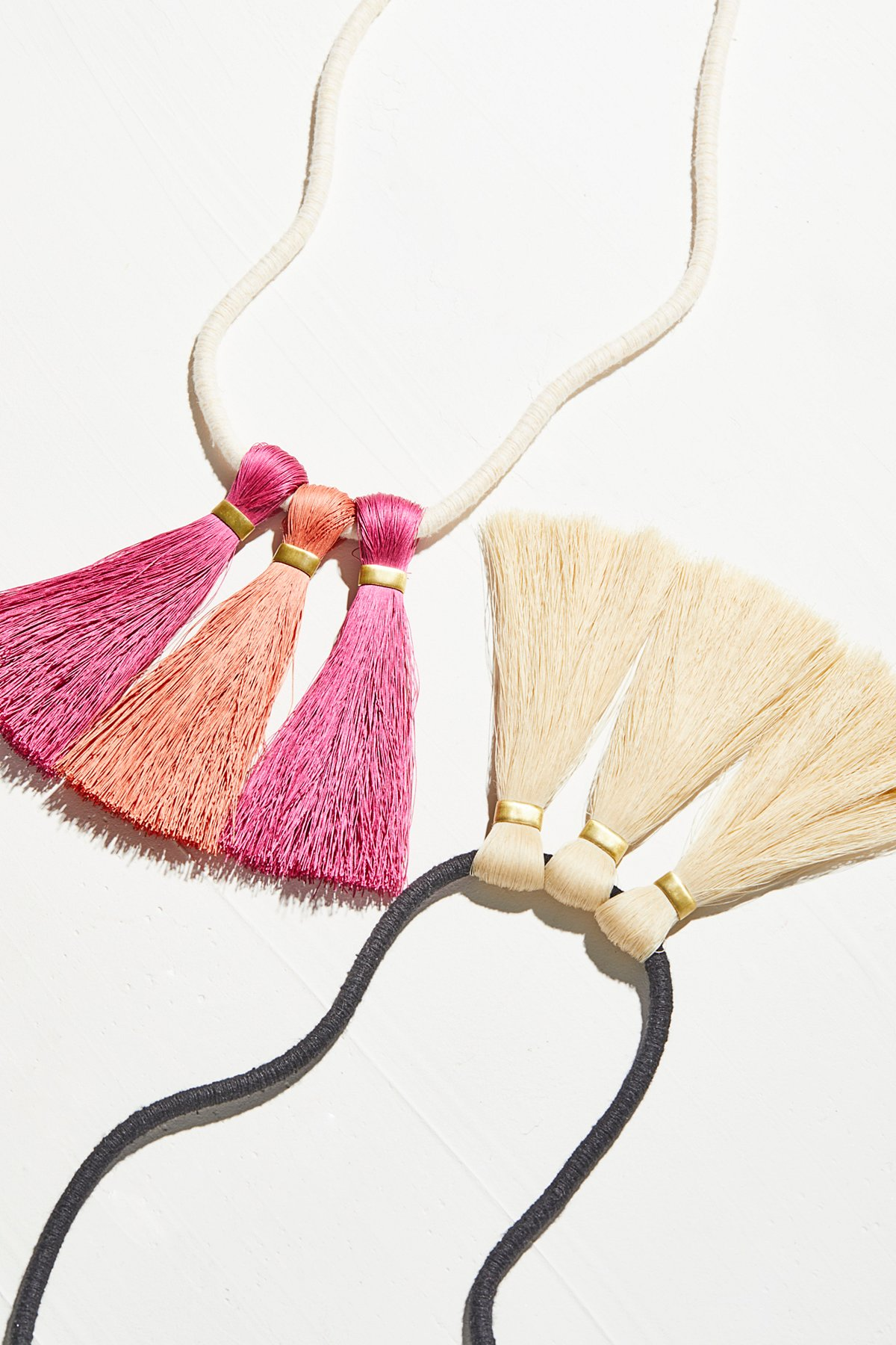 Empire Tassel Necklace
