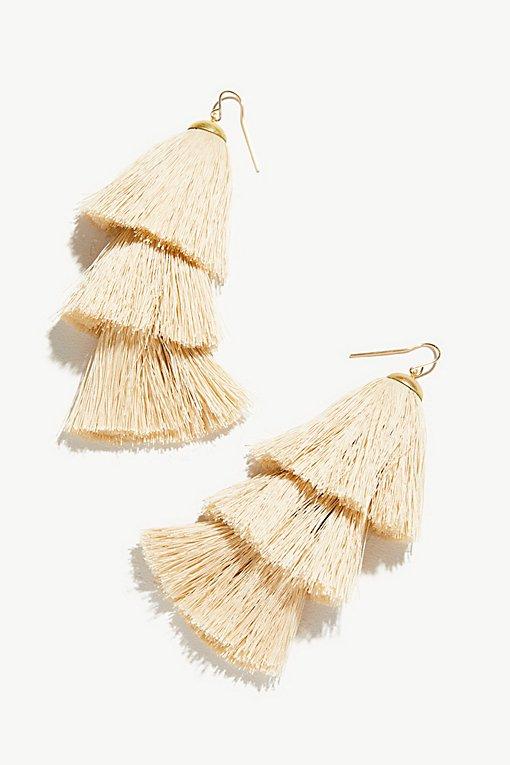Product Image: Tiered Tassel Earrings