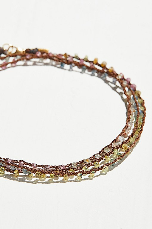 Product Image: Multi Sapphire Talisman Silk Wrap