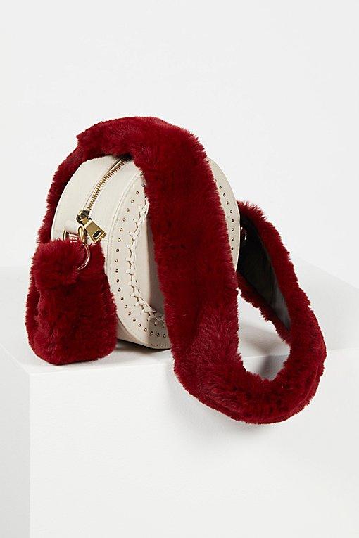 Product Image: Faux Fur Long Bag Strap