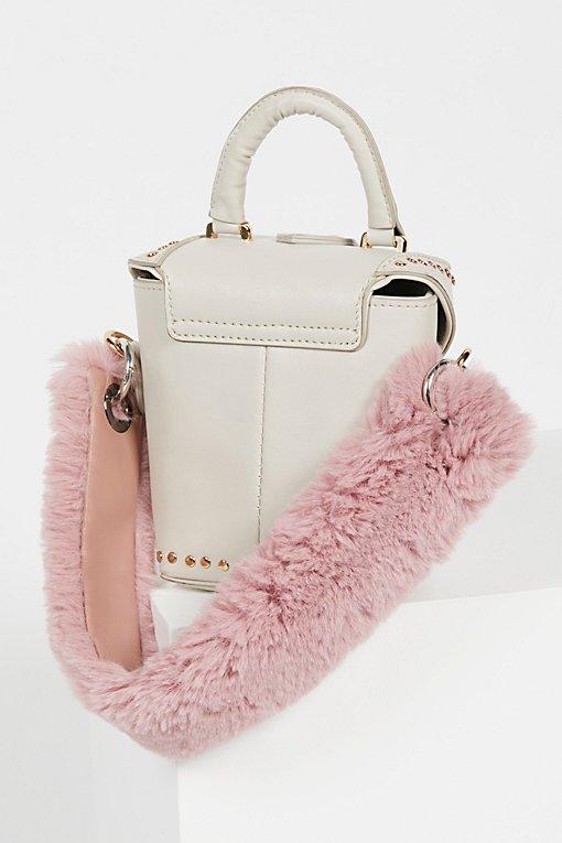 Product Image: Faux Fur Short Bag Strap