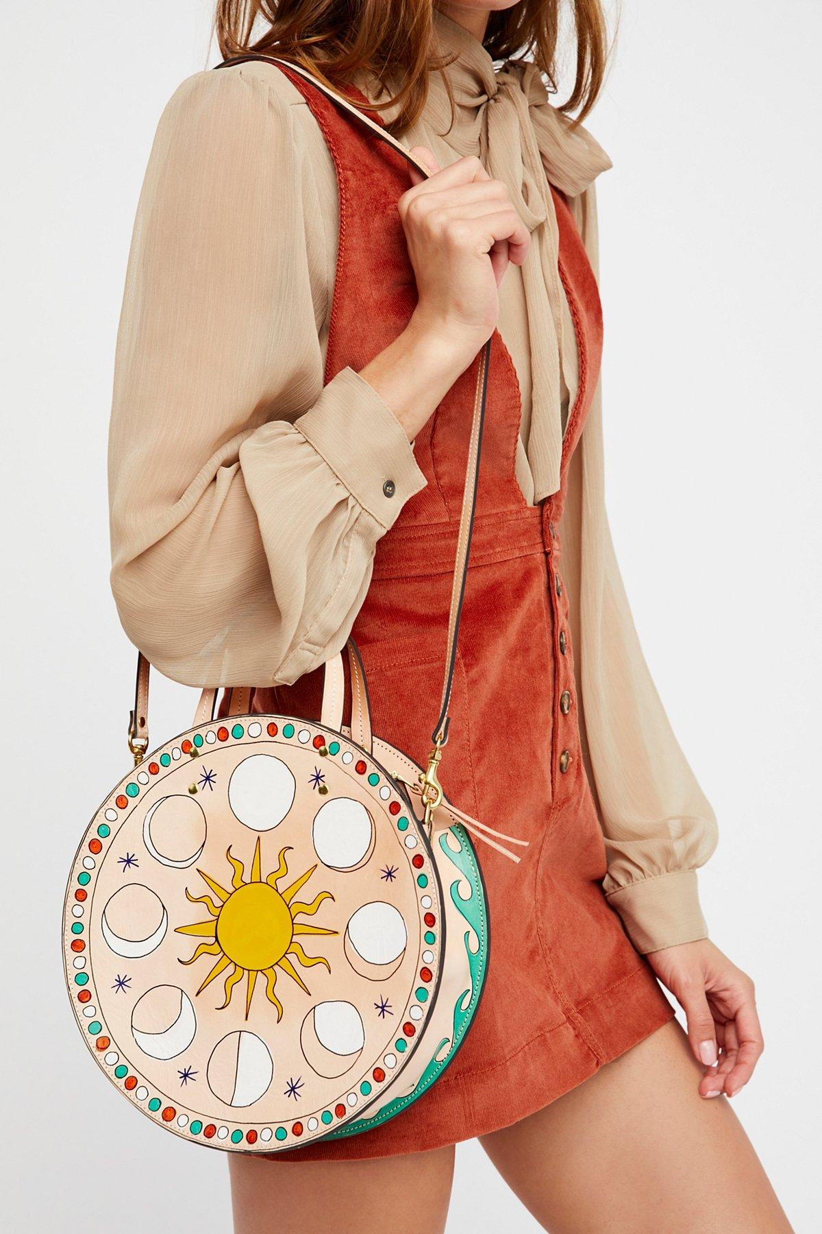 Celeste圆形手提包