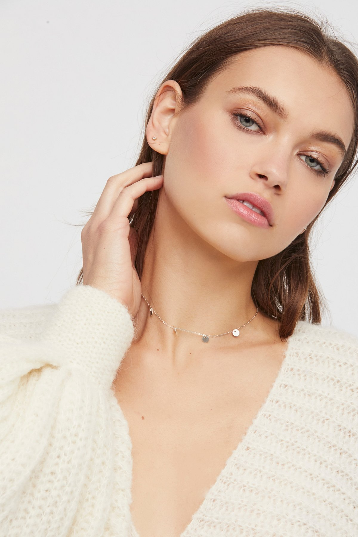 Madrid Coins Delicate Choker