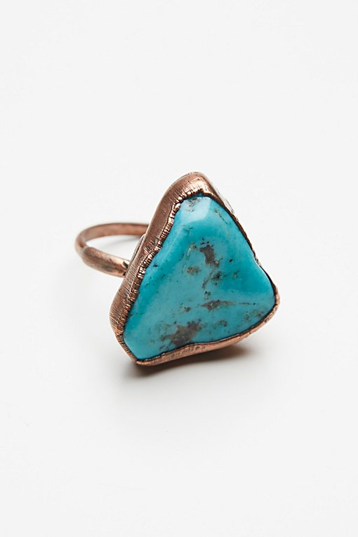 Product Image: Turquoise Electroform Ring