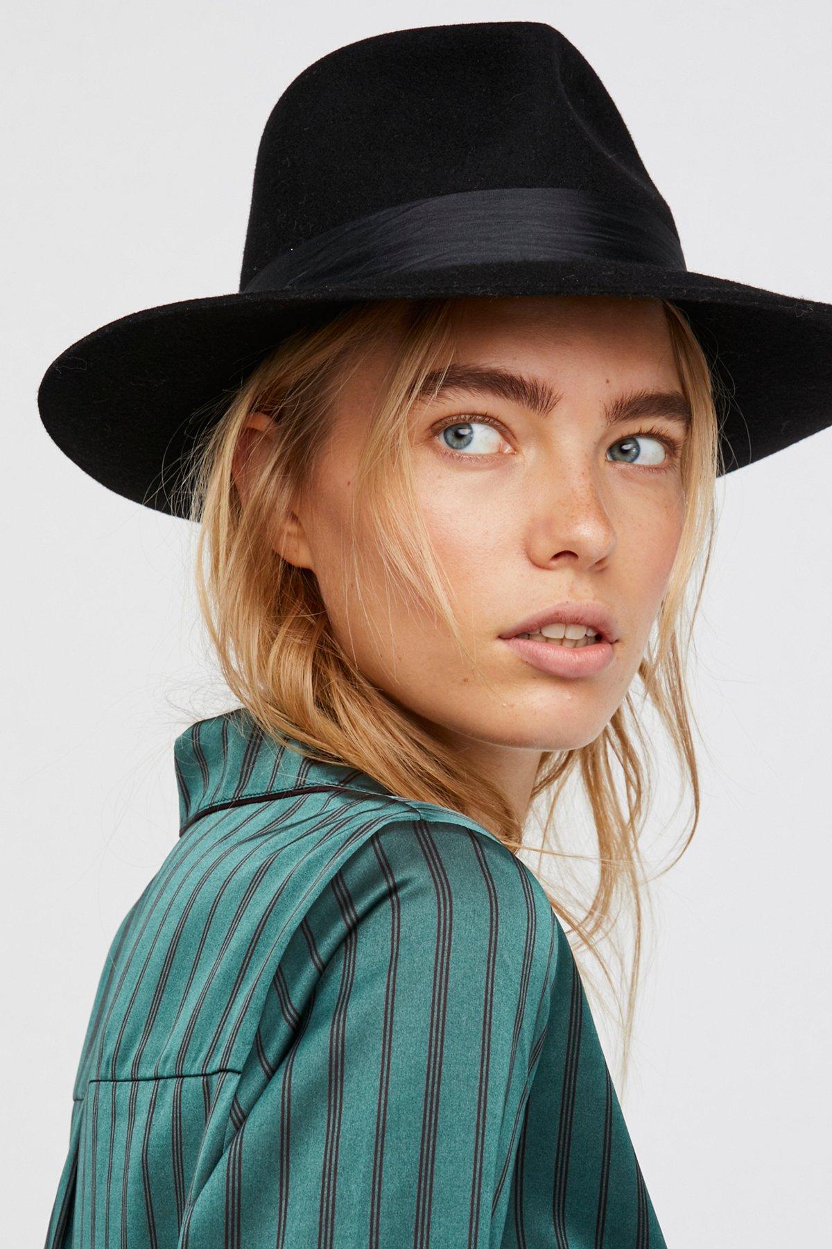 Nico Silk Band Felt Hat