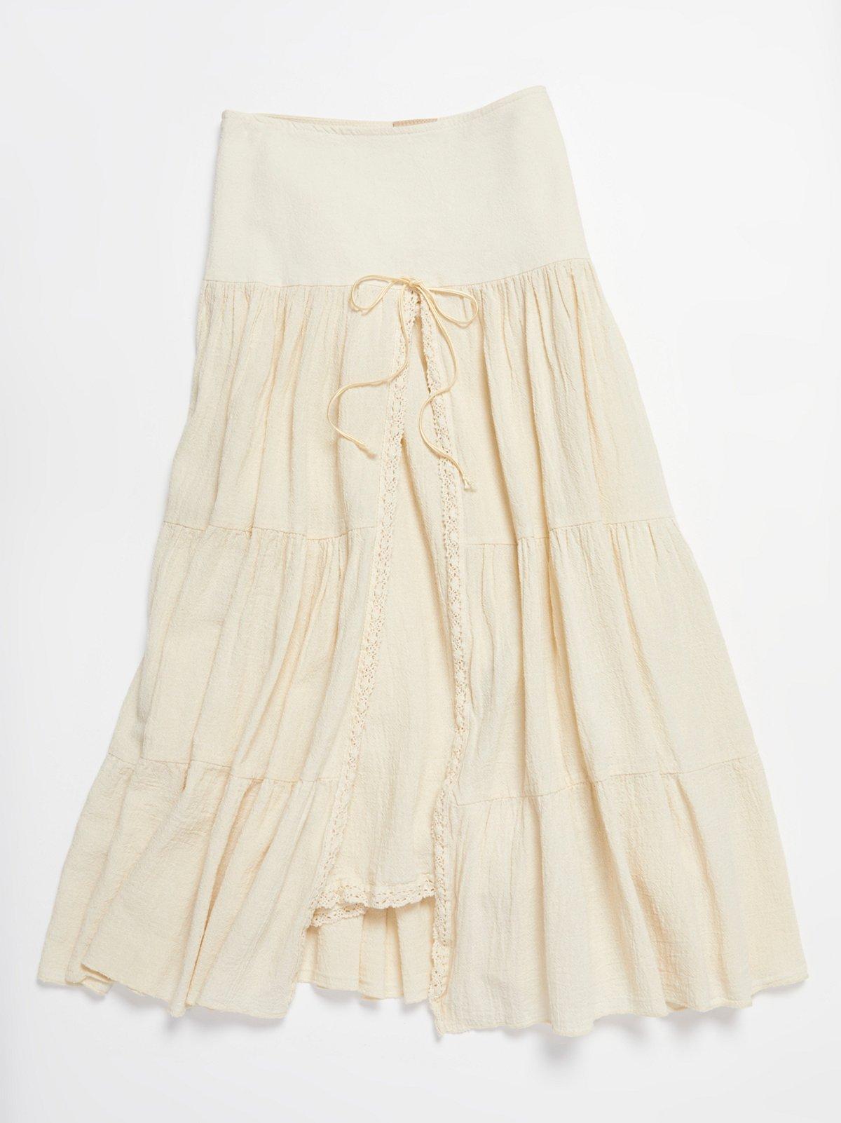 Vintage 1980s Gauze Skirt