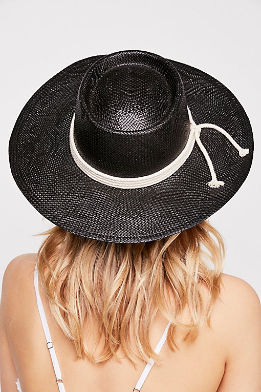 Garden Grove Straw Boater